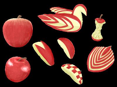 りんごダイエット 3日間